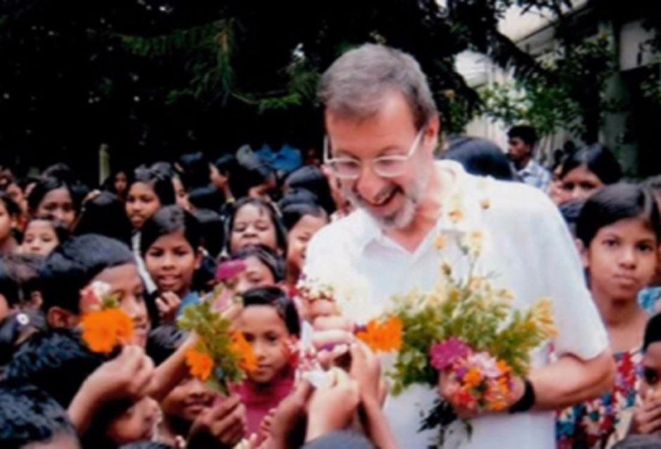 Padre Piero Parolari, missionario in Bangladesh