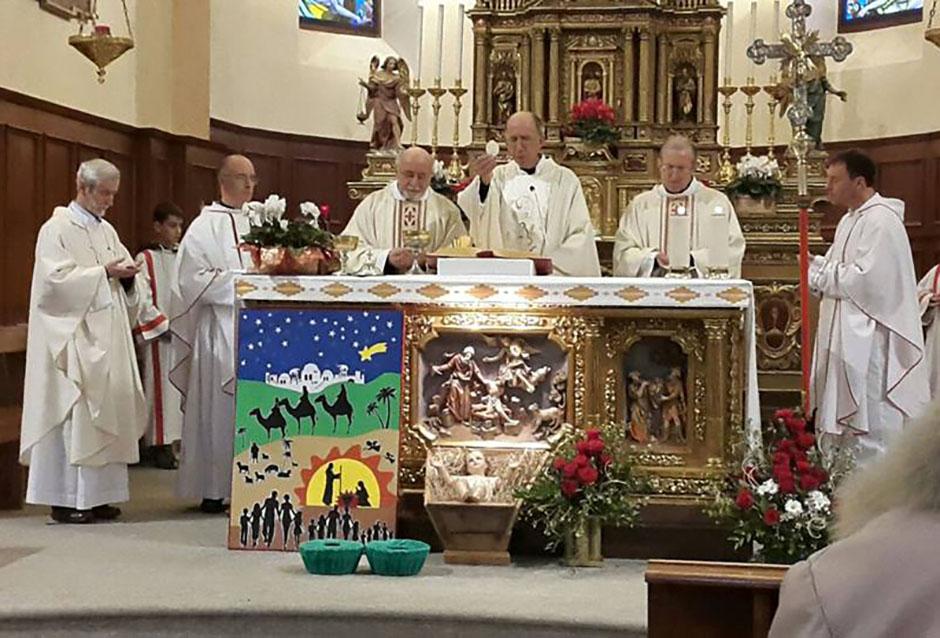 Padre Tobia Sosio celebra i 40 anni di ordinazione sacerdotale a Semogo